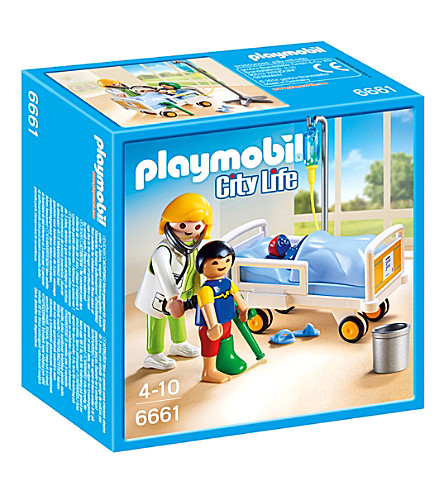 PLAYMOBIL Playmobil City Life Children's Hospital Doctor with Child
