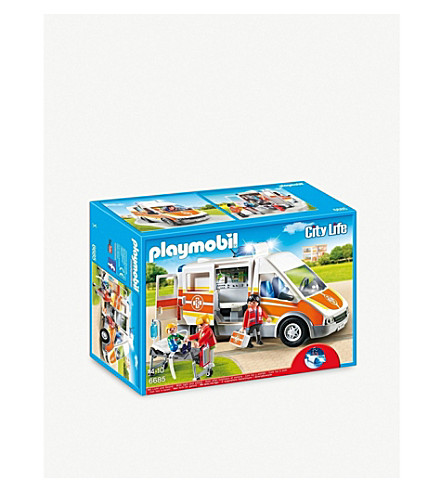 PLAYMOBIL Playmobil City Life Children's Hospital Ambulance