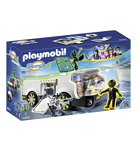 PLAYMOBIL Super 4 Technopolis Chameleon vehicle