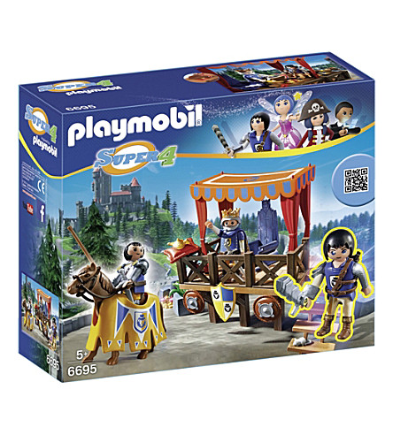 PLAYMOBIL Super 4 Kingsland royal tribune