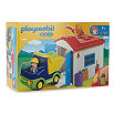 PLAYMOBIL Truck and garage set