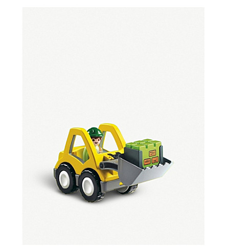 PLAYMOBIL 6775 Excavator toy