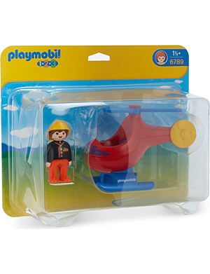 PLAYMOBIL Fire rescue helicopter toy