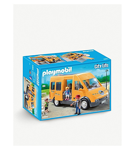 PLAYMOBIL City Life School Bus set