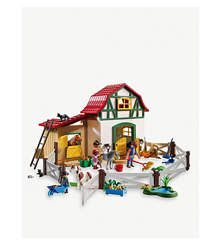 PLAYMOBIL Pony Farm Playset