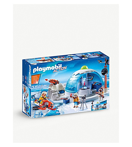 PLAYMOBIL Arctic Expedition Headquarters playset