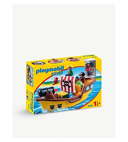 PLAYMOBIL 123 Pirate Ship
