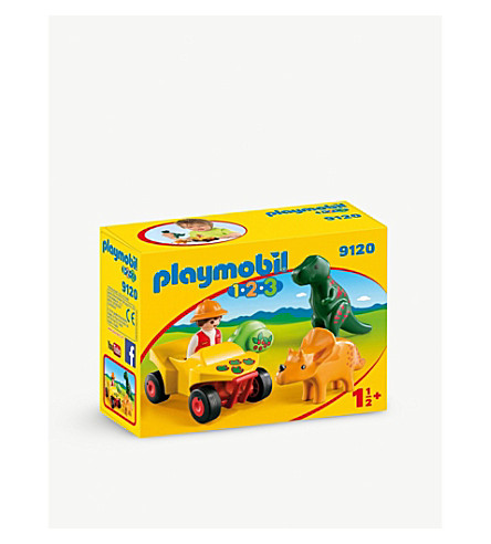 PLAYMOBIL 123 Explorer with Dinos