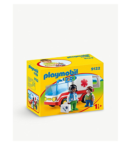 PLAYMOBIL 123 Rescue Ambulance