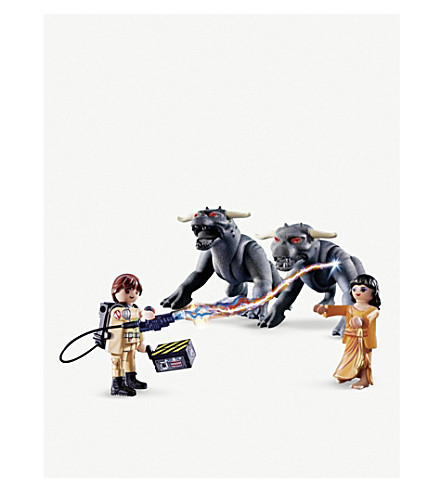 PLAYMOBIL Ghostbusters Playmobil Venkman & Terror Dogs playset