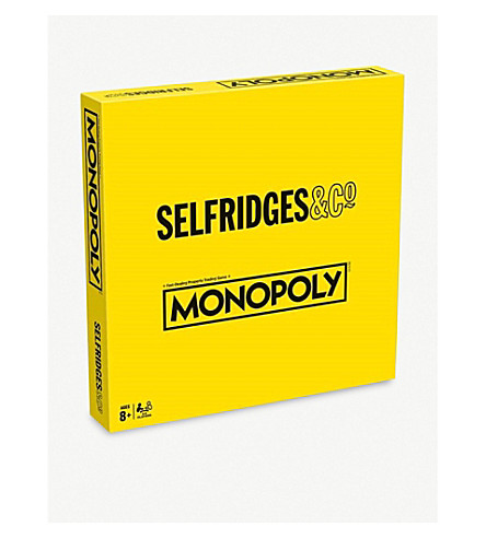 BOARD GAMES Selfridges 独家发售专卖