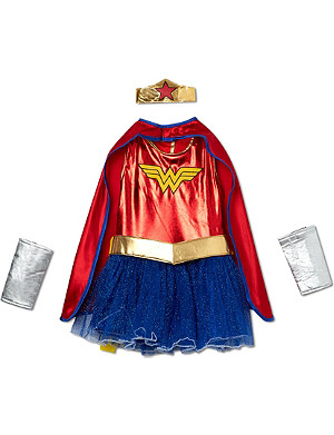 RUBIES Wonder Girl costume 3-8 years