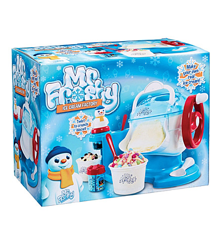 MR FROSTY Mr Frosty Ice Cream Factory