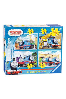 PUZZLE Thomas and friends 4 in box