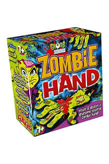HALLOWEEN Gross Science Zombie Hand kit