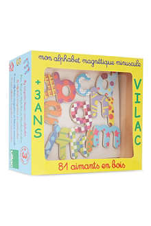 VILAC Alphabet magnets lowercase letter