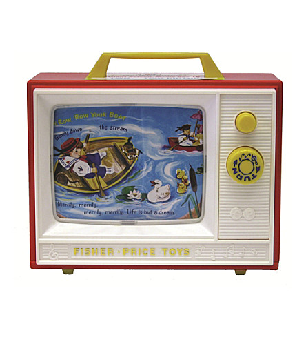 FISHER PRICE Two Tune TV musical toy