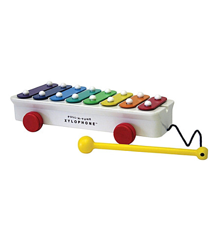 FISHER PRICE Brilliant Basics Classic Pull-a-Tune xylophone