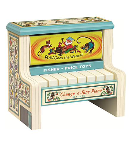FISHER PRICE Classics Change-a-Tune Piano