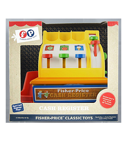 FISHER PRICE Fisher Price Cash Register 1year+