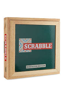 BOARD GAMES Scrabble Nostalgia Edition