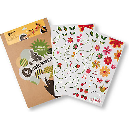 WISHBONE Flowers stickers