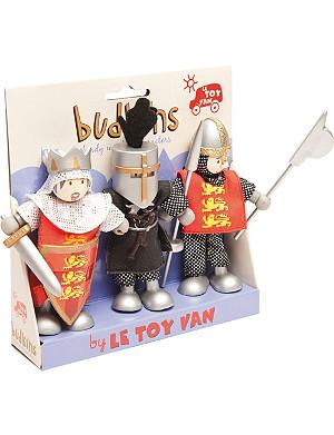 LE TOY VAN Budkins Crusader figure set gift pack