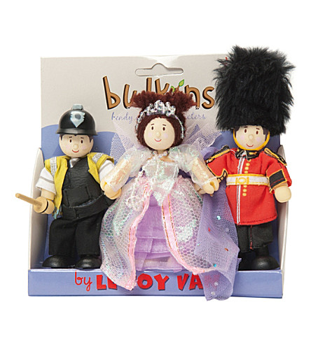LE TOY VAN Budkins Heart of London figure set gift pack