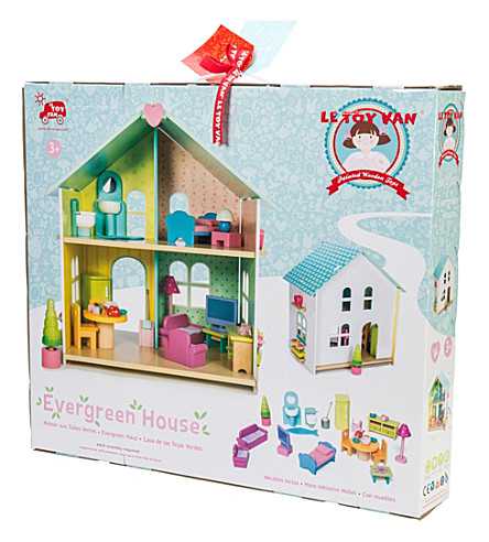 LE TOY VAN Evergreen doll house