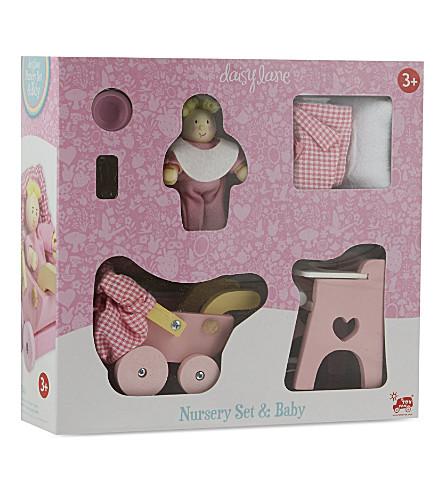 LE TOY VAN Daisy Laine nursery & baby set