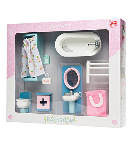 LE TOY VAN Daisy Lane bathroom furniture set