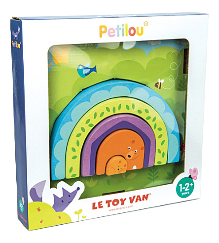 LE TOY VAN Petilou Momma Bear Tunnel Puzzle