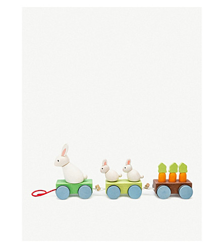 LE TOY VAN Petilou Bunny Train