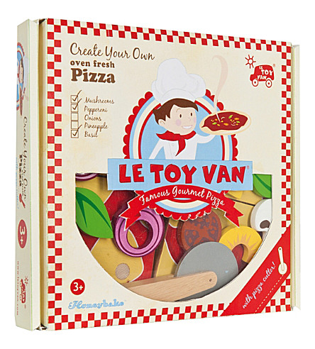 LE TOY VAN Create your own pizza