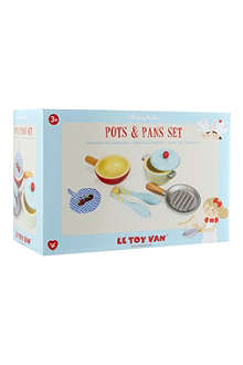 LE TOY VAN Pots and pans set