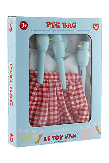 LE TOY VAN Peg bag set