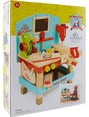 LE TOY VAN Wooden My First Toolbench