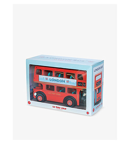 LE TOY VAN Wooden Budkins London bus