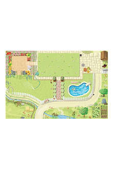 LE TOY VAN Dolls House medium playmat 80 x 120cm