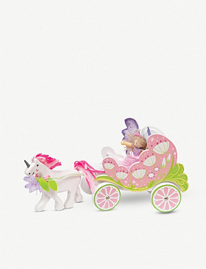 LE TOY VAN Fairybelle carriage & unicorn playset