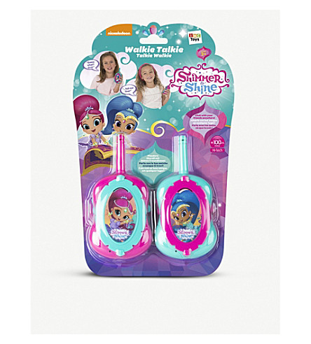 SHIMMER AND SHINE Shimmer and shine 100m walkie talkies