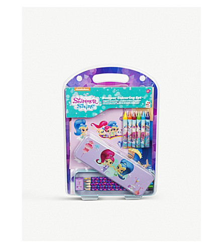 SHIMMER AND SHINE Bumper colouring set