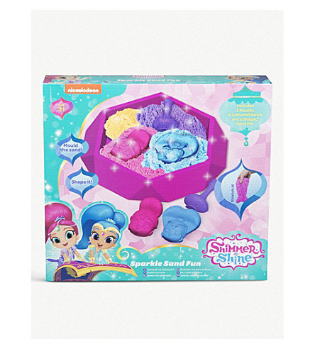 SHIMMER AND SHINE Sparkle Sand Fun kit