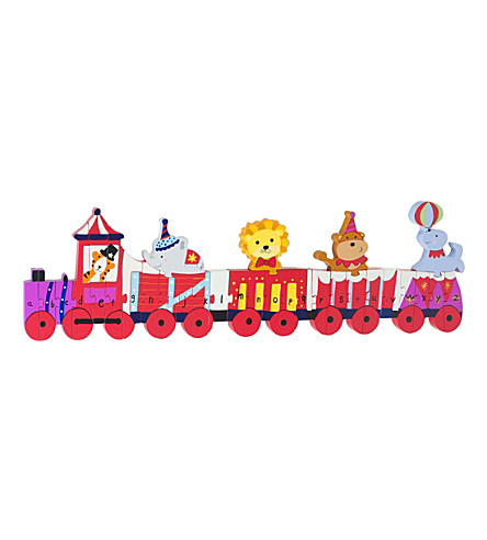 ORANGE TREE TOYS Vintage Circus Train wooden puzzle