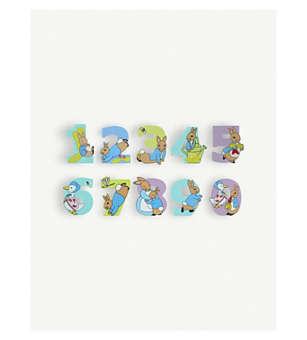 ORANGE TREE TOYS Peter Rabbit numbers