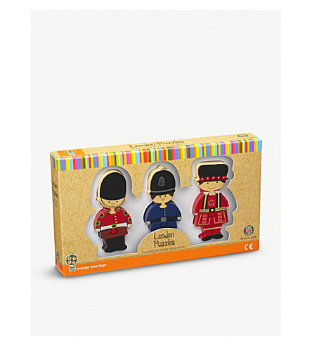 ORANGE TREE TOYS London mini wooden puzzle set