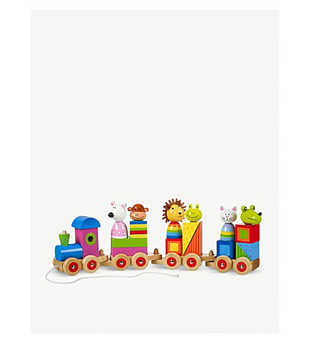 ORANGE TREE TOYS Animal train puzzle