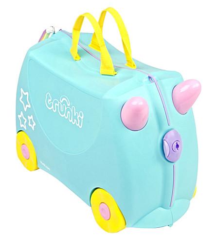 TRUNKI Una the Unicorn children's wheeled hand luggage