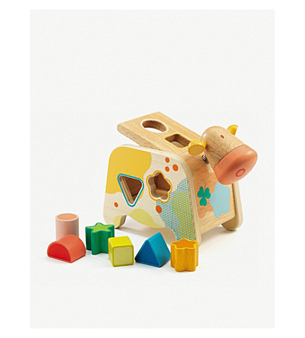 DJECO Cachatou Maggy wooden cow