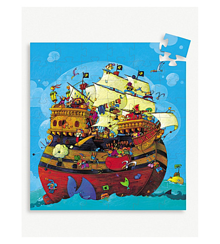 DJECO Barbarossa's pirate ship puzzle
